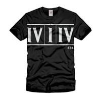 IV I IV Milwaukee Roman numeral shirt