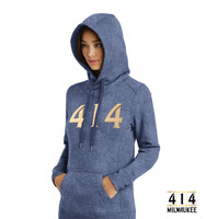 414 Ladies French Terry Pullover Hoodie