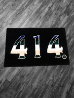 414 Basketball Black rug