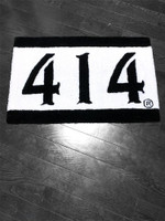 414 Black and White Rug