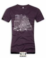 Milwaukee Skyline Royal Purple