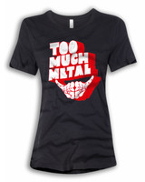 Women Too Much Metal 21 Red Shadow