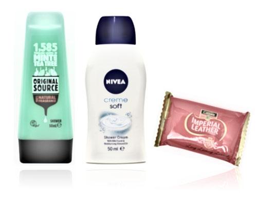 86af95f6100 Mini Shower Gel   Travel Soap
