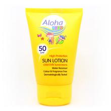 Aloha Kids Travel Size Sun lotion SPF50 50ml