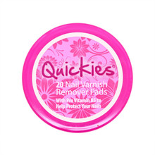 Quickies Nail Varnish Remover Travel Pads 20s