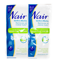 Nair Ultra Hair Removal Sensitive Cream Sachets 2x30ml