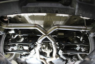"Porsche Cayenne 955 ST1 Muffler Delete Rear Exhaust in 2.5 or 3"" Diameter Tube"