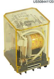 KUP11A35-120 RELAY PLUG IN 120VAC DPDT