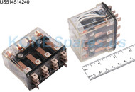 HG4-AC240V-ND RELAY PLUG-IN 240VAC 4PDT 20A
