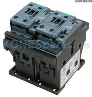 3RA23268XB301AC2 CONTACTOR REV 600V 25AMP