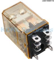 RH28-UD-110 IDEC RELAY MINI PLUG 110VDC W/BUT AND NEON INDICATOR