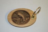 3D Muskie Key Ring
