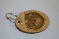 3D Deerhead Key Ring