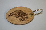 Raccoon Key Ring