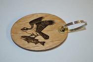 Hawk Like Bird 2 Key Ring
