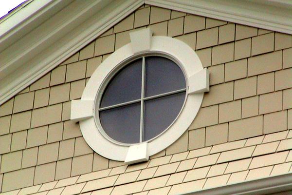 Circle Window Flat Trim