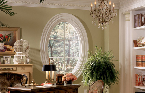 Decorative Oval Window Trim