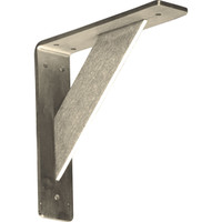 "2""W x 8""D x 8""H Traditional Bracket, Stainless Steel"