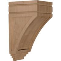 "5""W x 6""D x 10 1/2""H Medium San Juan Wood Corbel, Maple"