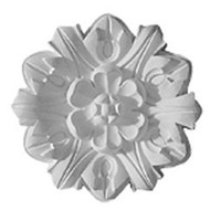 "7 5/8""OD x 1""P Emery Leaf Ceiling Medallion"