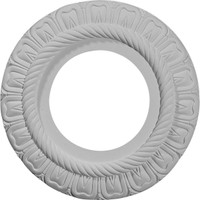 "9""OD x 4 3/8""ID x 1/2""P Claremont Ceiling Medallion (Fits Canopies up to 5 1/2"")"