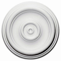 "12""OD x 3""ID x 1""P Traditional Ceiling Medallion"