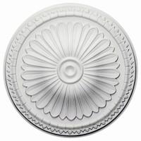 "15""OD x 2 1/2""ID x 1 3/4""P Alexa Ceiling Medallion"