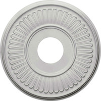 "15 3/4""OD x 3 7/8""ID x 3/4""P Berkshire Ceiling Medallion (Fits Canopies up to 7"")"
