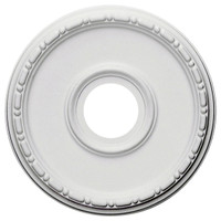 "16 1/2""OD x 3 7/8""ID x 1 1/2""P Medea Ceiling Medallion (Fits Canopies up to 5 3/8"")"