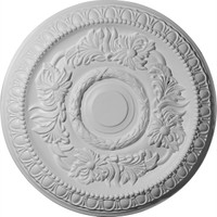 "17 5/8""OD x 2 7/8""ID x 1 1/8""P Cambridge Ceiling Medallion"