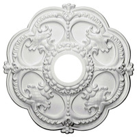 "18""OD x 3 1/2""ID x 1 1/2""P Rotherham Ceiling Medallion"