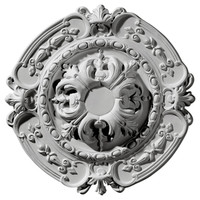 "16 3/8""OD x 2 3/4""ID x 1 3/4""P Southampton Ceiling Medallion"