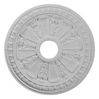 "18 1/8""OD 3 5/8""ID x 1 1/8""P Raymond Ceiling Medallion"