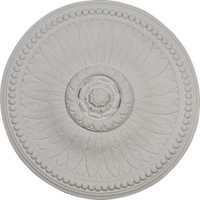"18 1/8""OD x 3/4""P Bailey Ceiling Medallion"