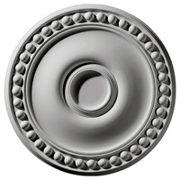 "19 1/8""OD x 4 1/2""ID x 1""P Foster Ceiling Medallion"