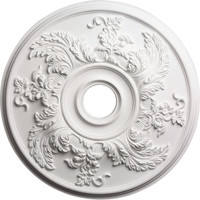 "23 5/8""OD Acanthus Twist Ceiling Medallion (Fits Canopies up to 4 3/4"")"