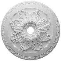 "23 5/8""OD x 3""ID x 2""P Bordeaux Deluxe Ceiling Medallion"
