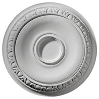 "24 1/4""OD x 1 1/2""P Caputo Ceiling Medallion (Fits Canopies up to 6"")"