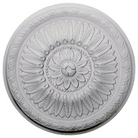 "24""OD x 1 5/8""P Temple Ceiling Medallion"
