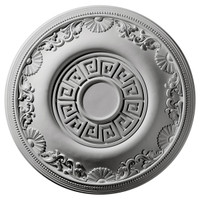 "25 7/8""OD Nestor Ceiling Medallion (Fits Canopies up to 5"")"