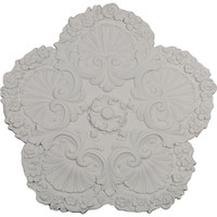 "25 5/8""OD x 1""P Shell Ceiling Medallion"