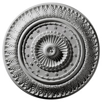 "26 5/8""OD x 2 1/4""P Christopher Ceiling Medallion"