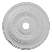 "26 1/2""OD x 3 5/8""ID x 1 1/2""P Jefferson Ceiling Medallion"