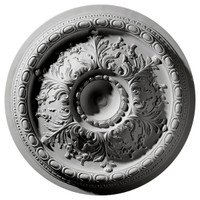 "28""OD x 6""ID x 2 3/4"" P Stockport Ceiling Medallion"