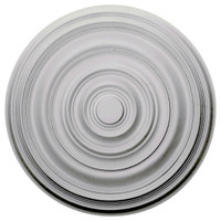 "29 1/8""OD x 1 1/2""P Carton Smooth Ceiling Medallion"