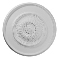 "29 3/4""OD x 1 1/2""P Wigan Ceiling Medallion"
