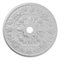 "30 7/8""OD x 3 5/8""ID x 1 3/8""P Rose Ceiling Medallion"