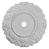 "32 1/4""OD x 3 5/8""ID x 1 1/8""P Angel Ceiling Medallion"