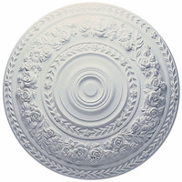 "33 7/8""OD Rose Ceiling Medallion"