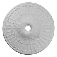 "36 5/8""OD x 3 5/8""ID x 2 3/8""P Galveston Ceiling Medallion (Fits Canopies up to 4 3/4"")"